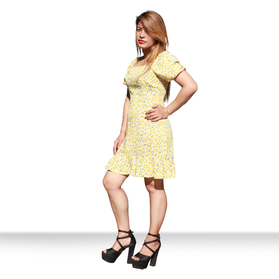 Picture of Floral Short Dress