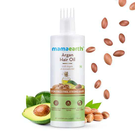 Picture of Mamaearth Argan Hair Oil 250 ML