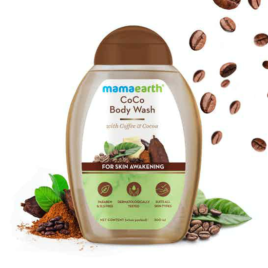 Picture of Mamaearth CoCo Body Wash With Coffee and Cocoa For Skin Awakening - 300 ml