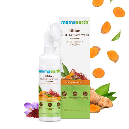 Picture of Mamaearth Ubtan Foaming Face Wash