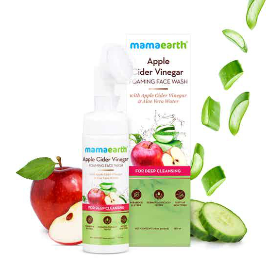 Picture of Mamaearth ACV Foaming Face Wash