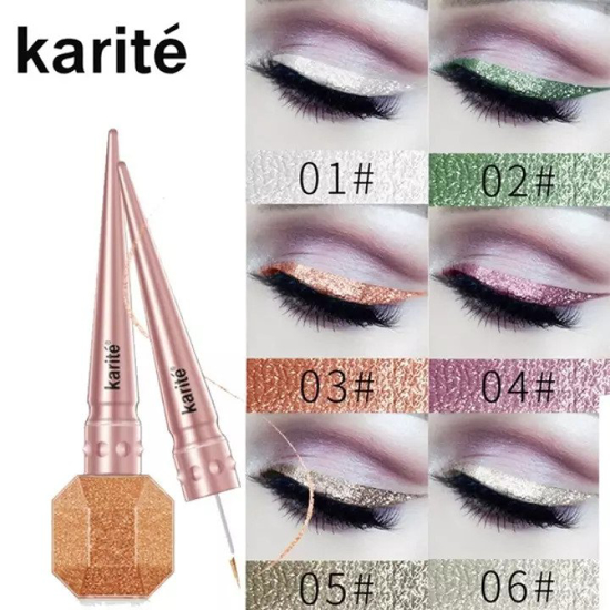 Picture of KARITE WATERPROOF GLITTER EYELINER (SET OF 2 COLOR OF YOUR CHOICE)