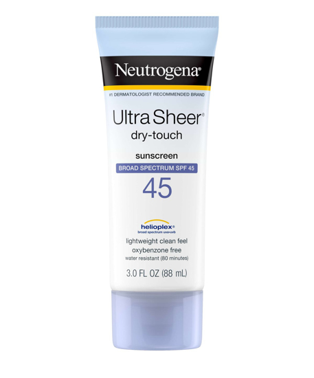 Picture of Neutrogena Ultra Sheer Dry-Touch Sunscreen spf 45(color)