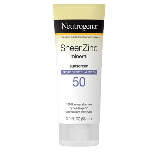 Picture of Neutrogena Sheer Zinc Dry-Touch Sunscreen Broad Spectrum SPF 50 (GC)