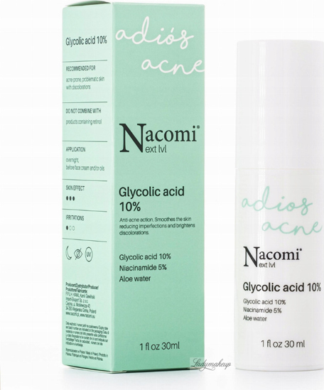 Picture of Nacomi Glycolic Acid 10% 30ml Face Serum