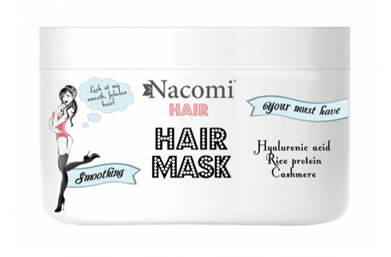Picture of Nacomi Hair Mask - Smoothing and Moisturizing hair 200ml