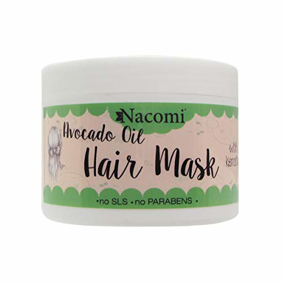 Picture of Nacomi Avocado Oil Hair Mask with keratin 200ml