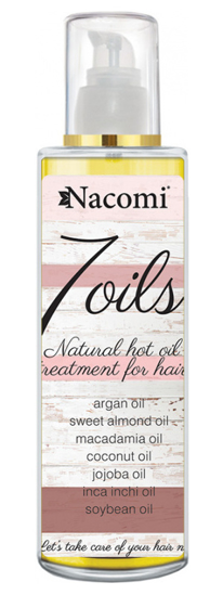 Picture of Nacomi 7 Oils Hair Treatment - Natural hot oil treatment for hair 100ml