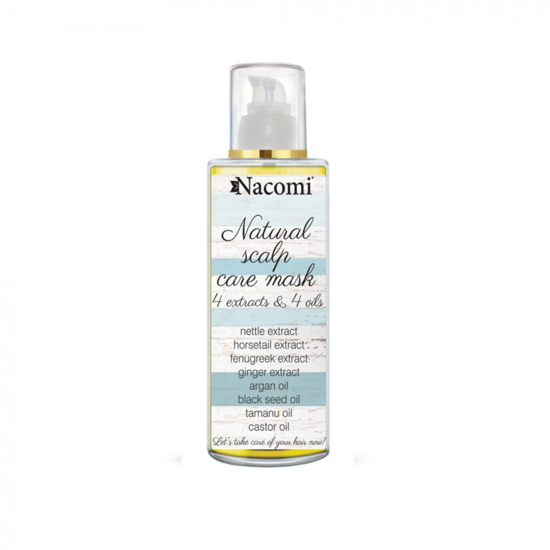 Picture of Nacomi Natural Scalp Care Mask - 4 Extracts & 4 Oils 50ml