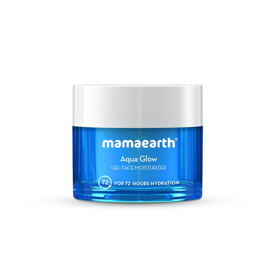 Picture of Mamaearth Aqua Glow Gel Face Moisturizer With Himalayan Thermal Water and Hyaluronic Acid 100ml