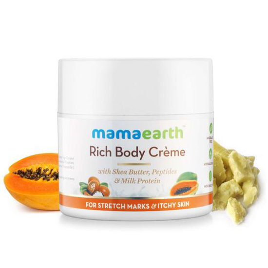 Picture of Mamaearth Rich Body Creme For Stretch Marks & Itchy Skin 100gm