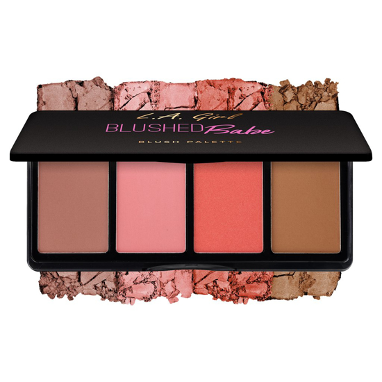 Picture of LA Girl Fanatic Blush Palette - Blushed Babe
