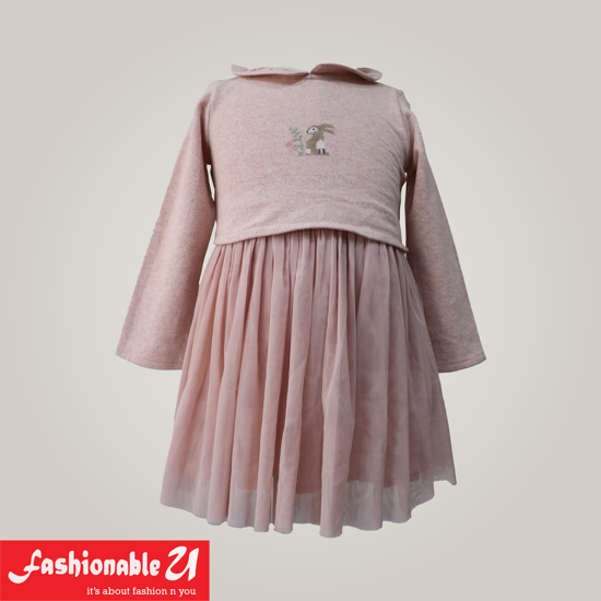 Picture of Pink Frock for Baby GIrl