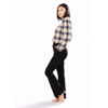 Picture of July Georgette Checkered Shirt