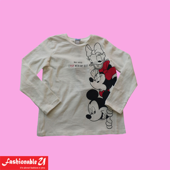 Picture of Disney Printed T-Shirt for Girls