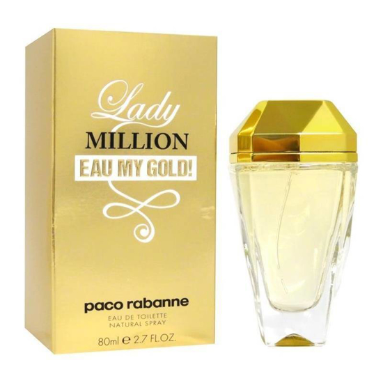 Picture of Paco Rabanne Lady Million Eau My Gold edt for Women 80ml